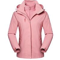 유로 사이즈 여성 겨울 방수 코트 분리형 자켓 하이킹 스키 트레킹 등산 캠핑 물고기 야외 통기성 아웃웨어