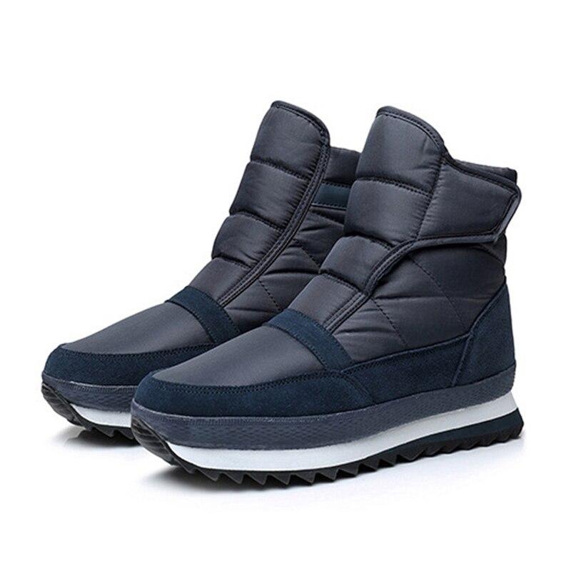 Snow Boots Men Ankle Boots Winter Shoes Men Men Boots Non-Slip Keep Warm Flat Men Botas Hombre With Plush men martin boots 2018 fashion lace up warm winter shoes men ankle boots non slip men snow boots botas de hombre