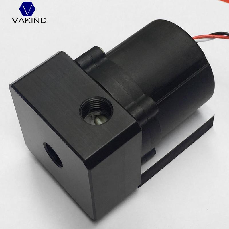 VAKIND SC600 Computer Water Cooling Pump With 4 Top Cover G1/4 Inlet And Outlet Thread Screws 5.2*5.2*2.7cm 390mm cylinder water tank sc600 pump all in one set maximum flow 600l h computer water cooling radiator
