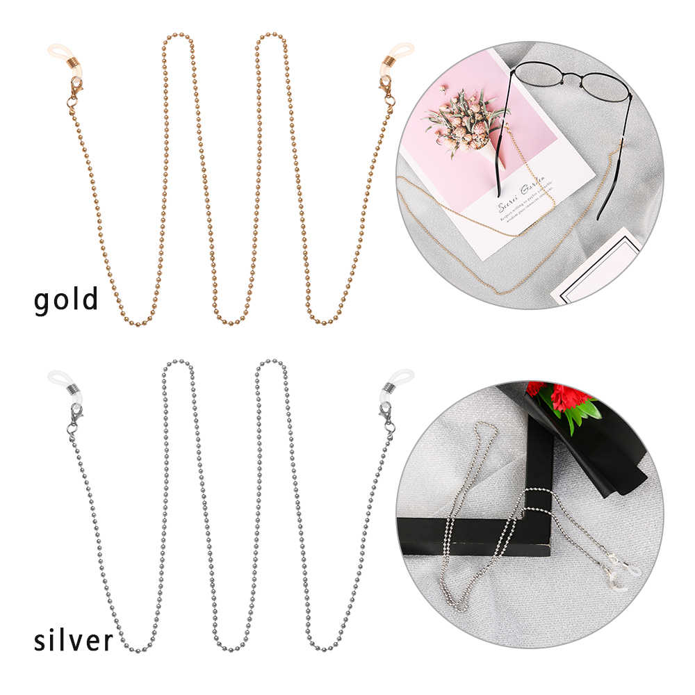 2019 New Fashion Glasses Chain Sunglasses Spectacles Vintage Chain Holder Cord Lanyard Necklace Eyewear Accessories 70cm