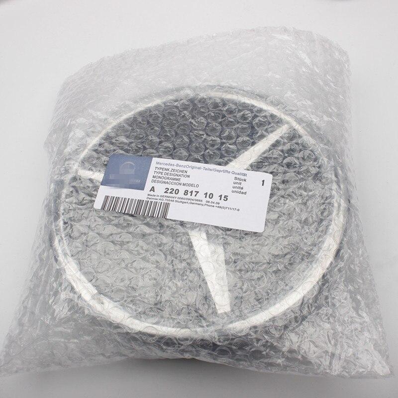 10 pièces qualité supérieure Brillant Miroir Finition Étoiles Badge Center Emblème Pour Mercedes Benz Lumineux Universal A/B/C /E/CLA/GLA/CLS