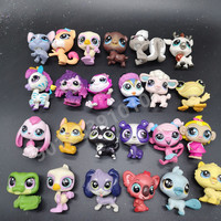 10pcs different cute doll model lps Toy bag Little Pet Shop Mini Toy Animal Cat patrulla canina dog toys for children