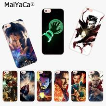 MaiYaCa Marvel Doctor Strange Luxury Fashion Phone Case for Apple iphone 11 pro 8 7 66S Plus X 5S SE XR XS XS MAX Mobile Cover(China)