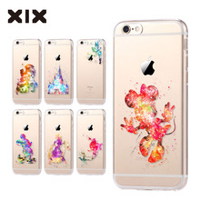 Para fundas iPhone 6 S caso 5 5S 6 6 S 7 Plus Minnie TPU silicone macio capa 2016 new arrivals original para coque iPhone 7 caso