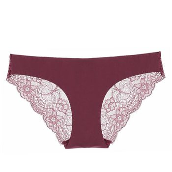 Women Underwear Lace Sexy Panties Seamless Cotton Breathable Panty Hollow Briefs Plus Size Girl Brand Underwear New Hot Sale women's panties