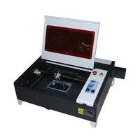LY Лазерная 4040 50 Вт Хрустальная лазерная гравировка машина мини настольная лазерная гравировка машина