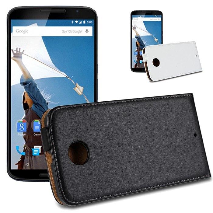 Para google nexus 6 casos coque de cuero cáscara de la cubierta móvil accesorio
