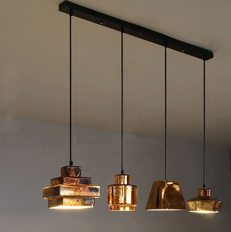Modern Led Lamps Pendant Lights Aluminum Lamp Restaurant