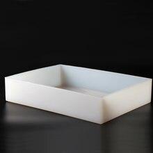 Николь силиконовая форма для мыла 11 фунтов белая ручной работы