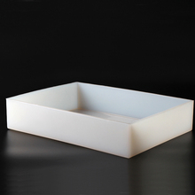 цена на Nicole Square Silicone Soap Mold 13 lb Handmade White Mould
