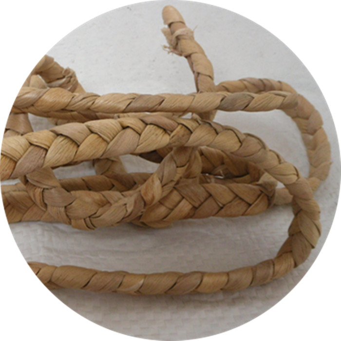 Water hyacinth grass braid rope Crafts accessories Handmade basket chair outdoor furniture weaving raw materials water hyacinth treatment of industrial wastewater