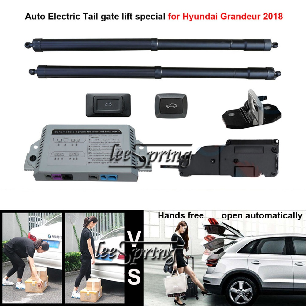 Автомобиль Электрический хвост ворота лифт специально для hyundai Grandeur 2018 легко для вас контролировать багажник