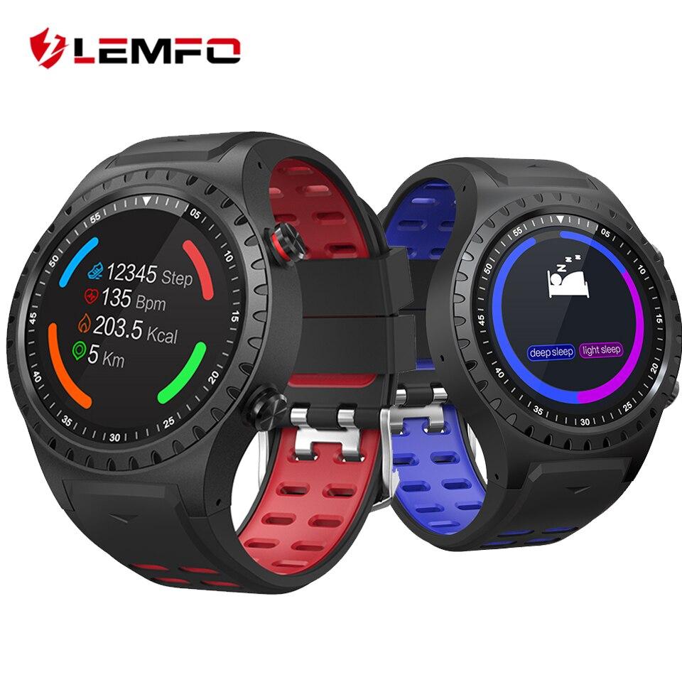 LEMFO спортивные Smartwatch Водонепроницаемый IP67 Поддержка SIM gps динамического сердечного ритма трекер Смарт-часы Bluetooth 4,0 часы Для мужчин