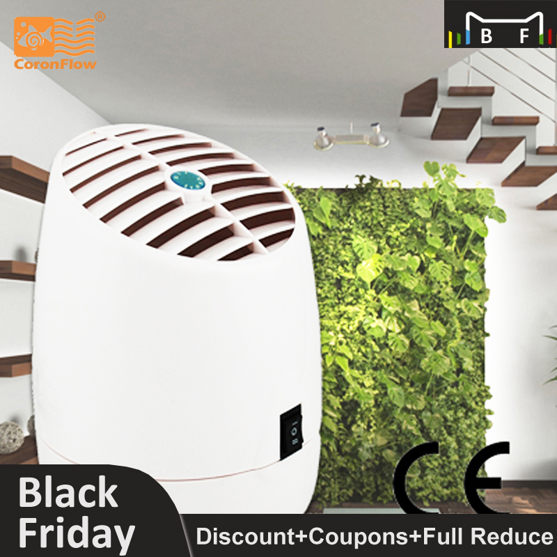 Coronwater Home and Office Air Purifier with Aroma Diffuser Ozone Generator and Ionizer GL 2100 CE