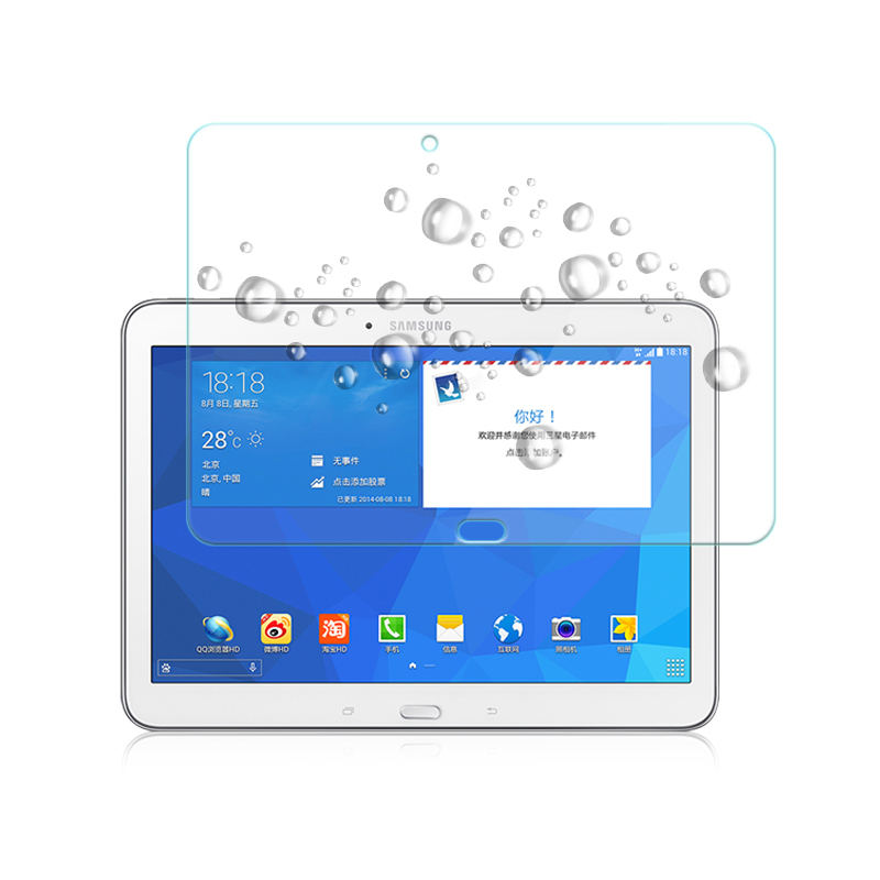 for Samsung Galaxy Tab 4 protective glass for Samsung Galaxy Tab 4 10.1 SM T535 T530 T330 T331 T230 T231 Tablet Screen Protector xskemp tablet screen protector film tablet for samsung galaxy tab 4 7 0 t230 t231 t235 9h real tempered glass protective guard