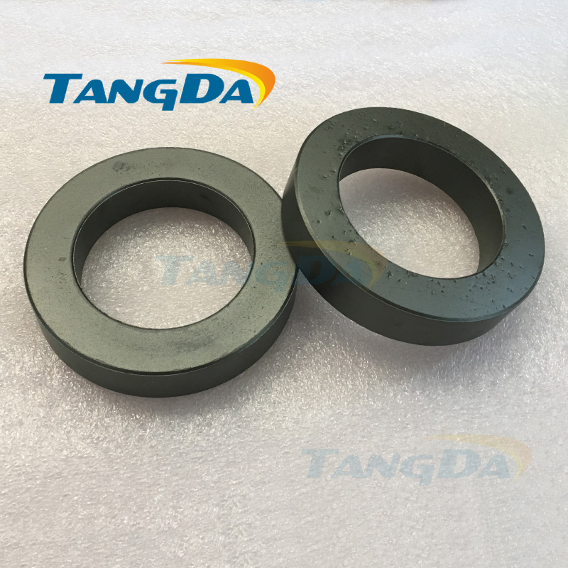 big ferrite core bead OD*ID*HT 100*65*20mm ring MnZn 100 65 20 mm magnetic coil inductance interference anti-interference A. 18 10 10 10mh 0 65 wire 4a choke magnetic ring common mode inductance ring common mode filter