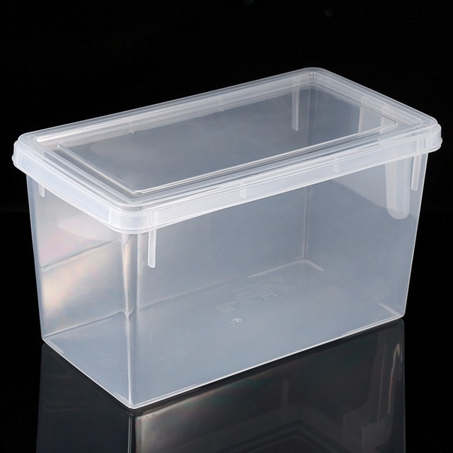 Eco Friendly Shoe Storage Box Case Transparent Plastic Storage Box  Refrigerator /Cloth/Rectangle