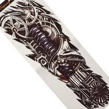 Classical Mechanical Hand Arm Stickers Non-toxic Waterproof Fastening Temporary Tattoos Body Art Tatoo Fashion Design