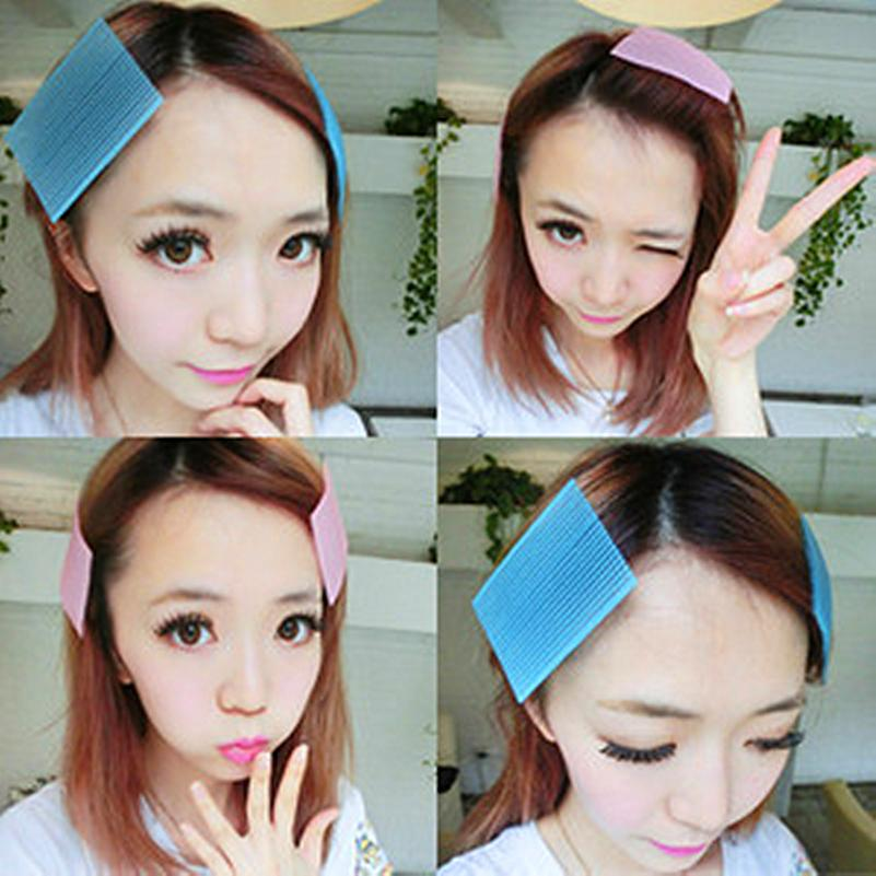 5pcs/lot Hair Sticker Clip Bangs Fixed Seamless Magic Paste Posts Magic Tape Fringe Hair Bang Patch