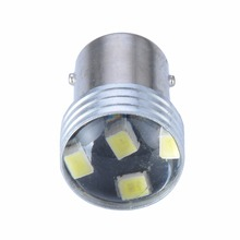 Mayitr 4pcs 1156 2835 6LED Canbus Error Backup Reverse Car Auto Turn Signal Light Lamps Bulb White High Quality