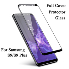 Full Coverage Screen Protector Glass For Samsung Galaxy S9 Plus J5 J7 J3 2017 Tempered  A5 A7 A3 2016 A6 A8 2018
