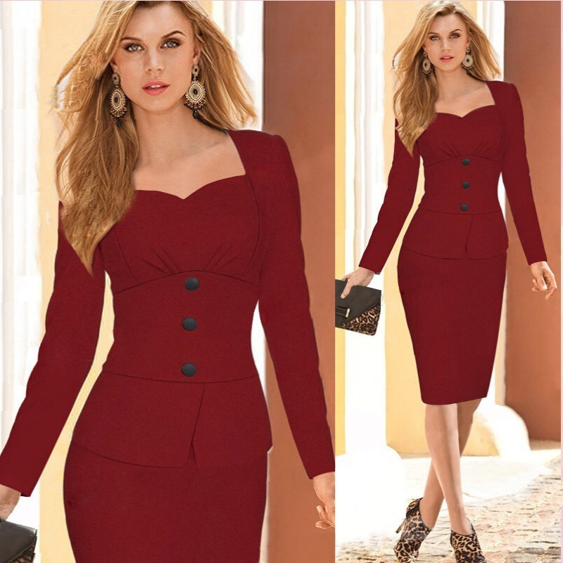 Ladies-Elegant-Business-Suits-Blazer-with-Skirts-Formal-Office-Suit-Work-Female-Uniform-Designs-Career-Pencil (2)