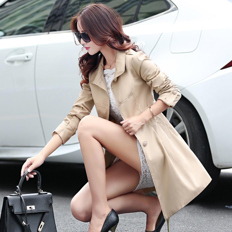 Mince Femmes Tranchée Sobretudo Coréennes Kj230 Arrivée Mujer Manteaux khaki Manteau De Red 2018 Coupe Ayunsue Automne Rose vent Abrigo blue Nouvelle dEXOwOfq
