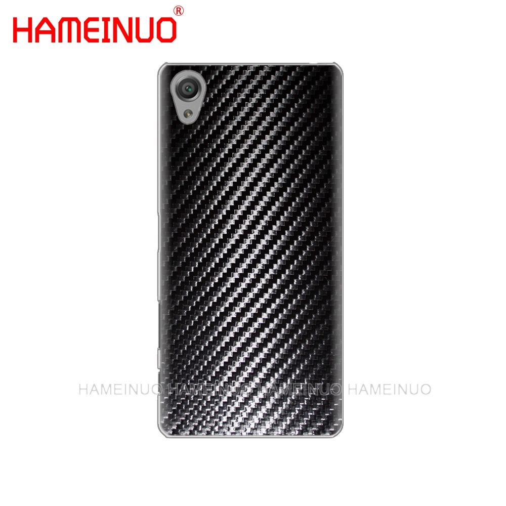 Чехол для телефона с принтом из углеродного волокна HAMEINUO для sony xperia C6 XA1 XA2 XA ULTRA X XP L1 L2 X XZ1 compact XR/XZ PREMIUM