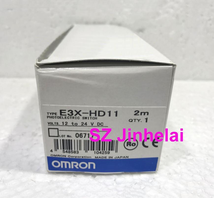 100% Authentic original E3X-HD11 OMRON Photoelectric switch 12-24VDC 2M мерников а самое известное оружие мира