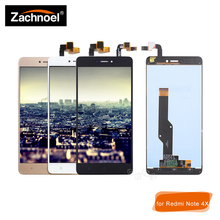 5.5'' for Xiaomi Redmi Note 4X LCD Display with Touch Screen Digitizer Glass Panel Assembly Complete for Note 4 Global Version все цены