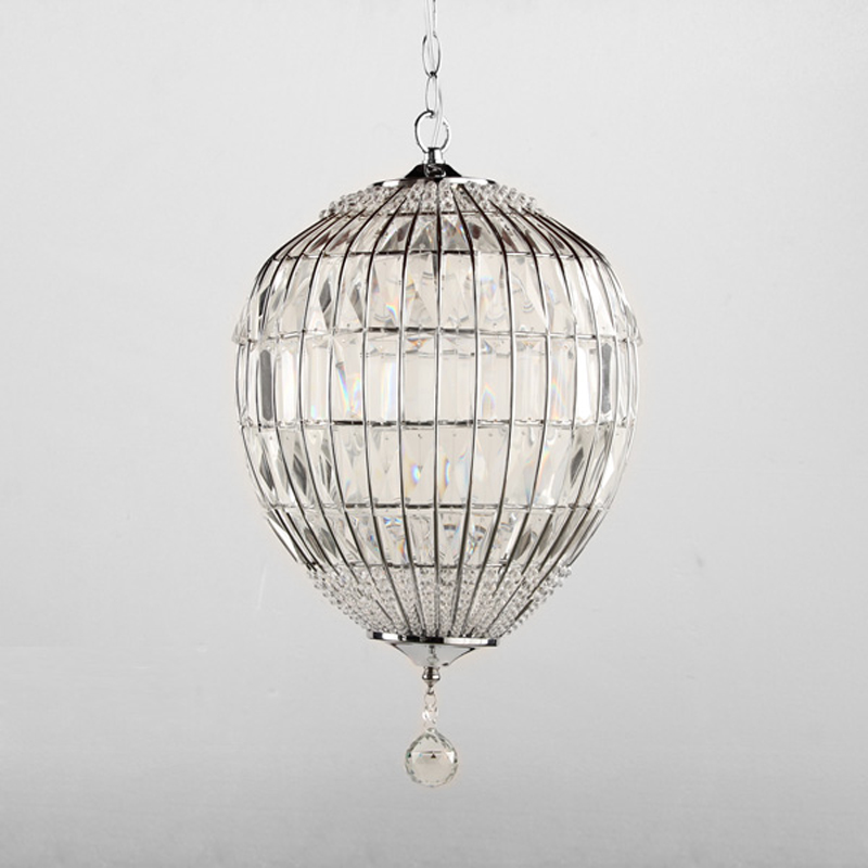New Modern Single Light Creative Crystal Pendant Lamp Round Ball Hanging Light Fixtures For Dining Room Kichen PL441 4pcs new for ball uff bes m18mg noc80b s04g
