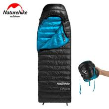 Naturehike Foldable Goose Down Sleeping Bag Adult Waterproof Ultralight Outdoor Camping Tourism Hiking  Sleeping Bag NH18C400-D naturehike naturehike ultralight mummy sleeping bag camping goose down waterproof adult portable outdoor hiking cotton nh17g350