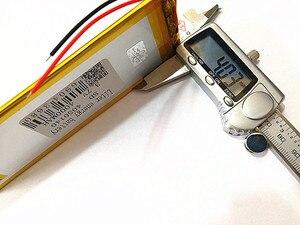 Image 5 - 3 קו 3.7 V, 4000 mAH (פולימר ליתיום יון סוללה) נטענת עבור מחשב לוח 7 אינץ 8 אינץ 9 אינץ 4050140 משלוח חינם