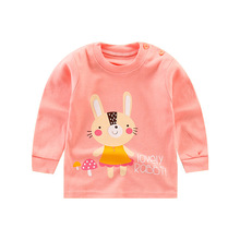 2019 new autumn childrens unicorn  t shirt baby girl long sleeve kids clothing shirts tshirt