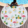 Round Patterned Beach Towel - Cover-Up - Beach Blanket 9