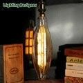 Extra grande luz lâmpada 3.5 K 110 V 220 V 7 W diammable LEVOU luz filamento lâmpada grande decorativa do vintage luz pandent