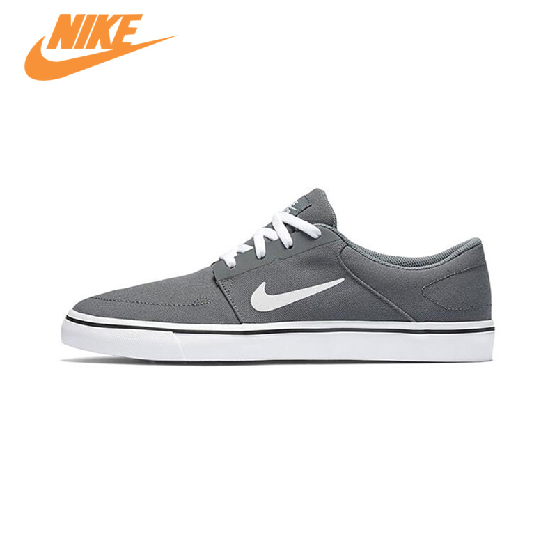 Original New Arrival Authentic Nike SB PORTMORE CNVS Hard-Wearing Men's Skateboarding Shoes Sports Sneakers Trainers nike sb рюкзак nike sb courthouse черный черный белый