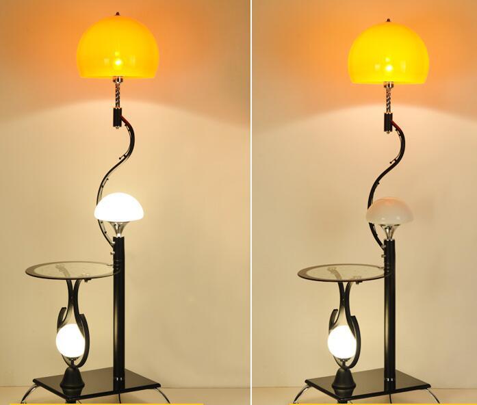 Table à thé salon chambre étude créative verticale lampe de bureau