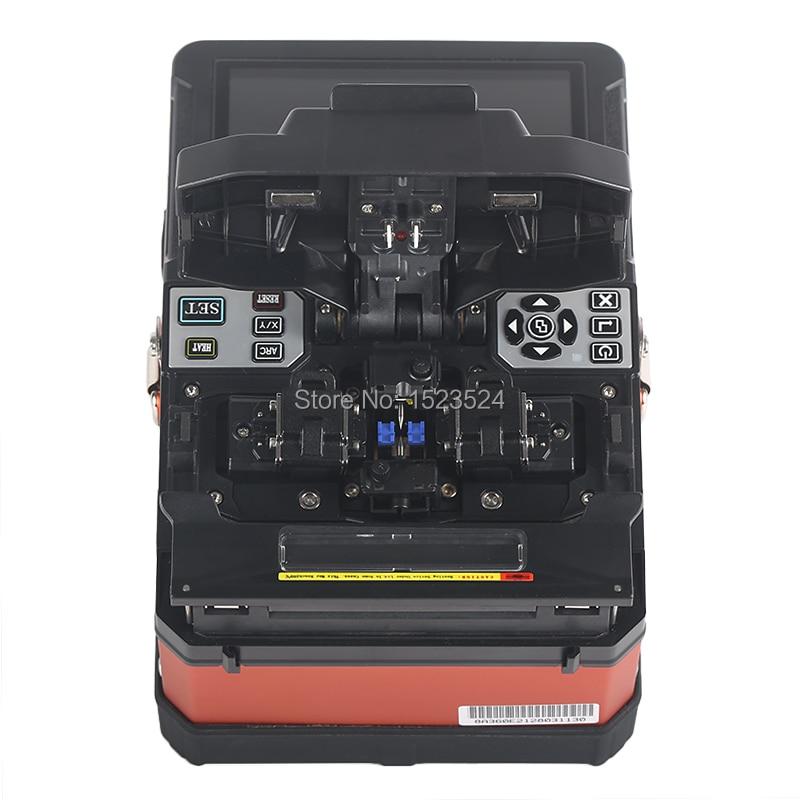 A-81S Orange Entièrement Automatique Fusion Splicer Machine Fiber Optique Fusion Splicer Fiber Optique Épissage Machine - 2