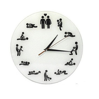 Relógio de quartzo de parede espelhado acrílico  grande relógio decorativo para parede