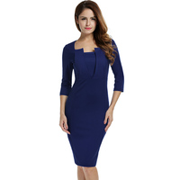 Women Dress Long Sleeve Clothes Spring Summer Party Dresses Blue Black Fashion Sexy Clothes 2017 New