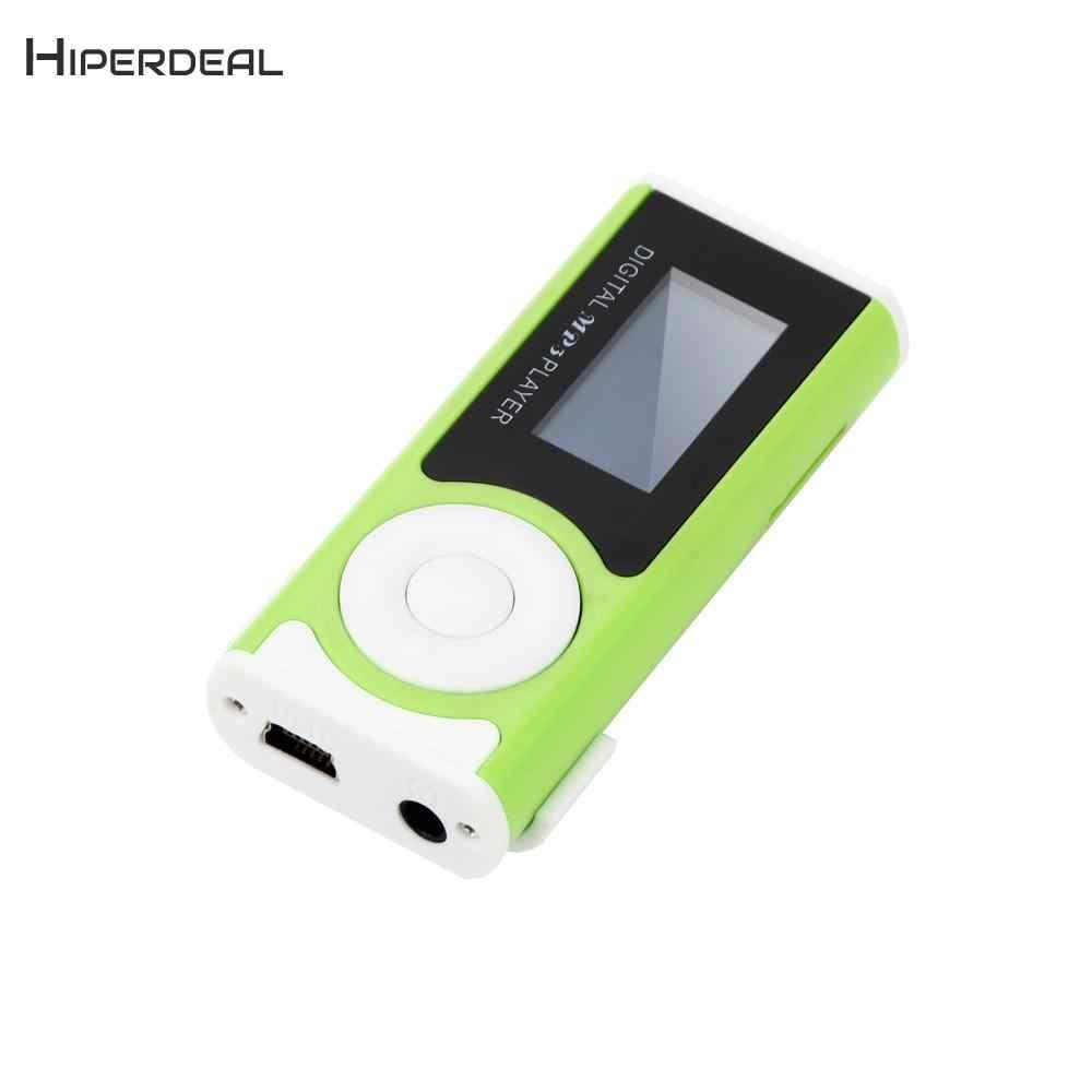 Mini Clip USB MP3 reproductor soporte Micro SD TF tarjeta música medios BU 7,9
