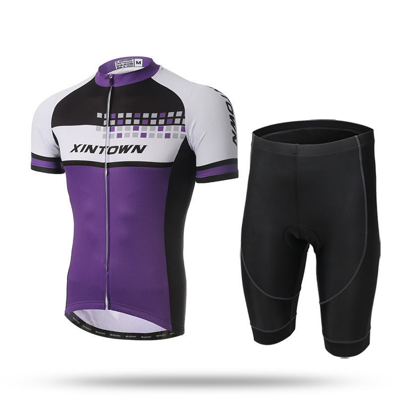 Ensemble maillot cycliste à manches courtes vêtements de vélo Jersey ensemble Shorts Gel Pad classique vêtements de cyclisme 3D Pad ensembles vtt