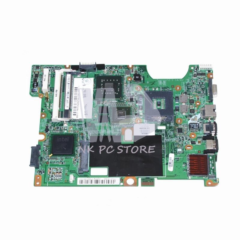 48.4I501.021 488338-001 Main Board For hp Compaq CQ60 G60 CQ70 G70 laptop motherboard PM45 DDR2 9200M Free CPU