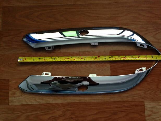 Sktoo 크라이슬러 300c 헤드 라이트 앞 범퍼 트림 패널 대형 조명 보드 밝은 스트라이프 범퍼 300c 액세서리
