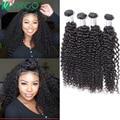 Malaysian Curly Virgin Hair 4 Bundles Virgo Hair Company Mink 8A Unprocessed Deep Curly Weave Human Hair Malaysian Curly Hair