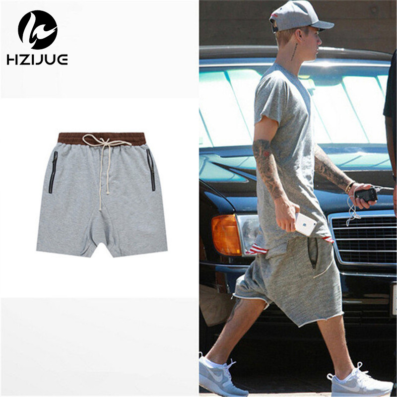 hzijue streetwear hip hop dance clothes stage for men short mens stretch cotton fear of god sweat jogger shortsin shorts from menu0027s