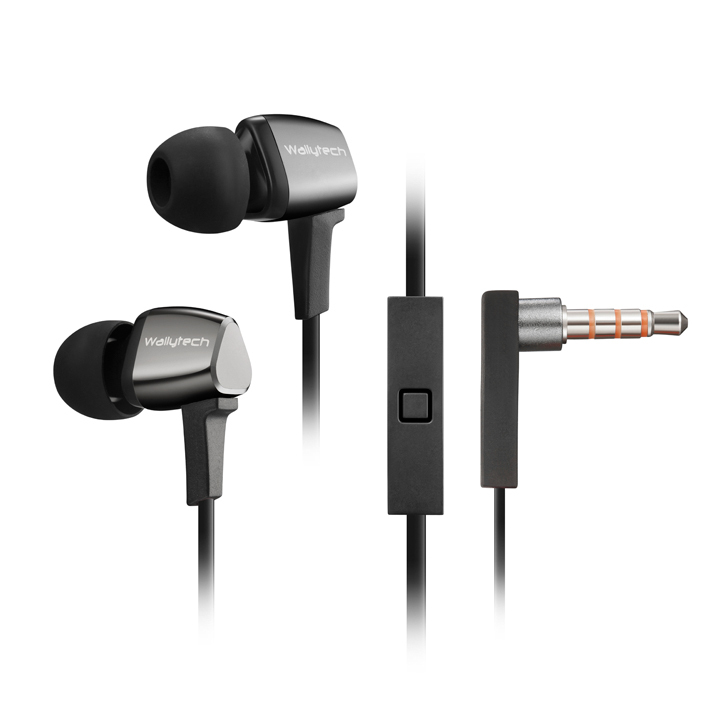 Wallytech VOCALS WHF-128 metal earphone 5