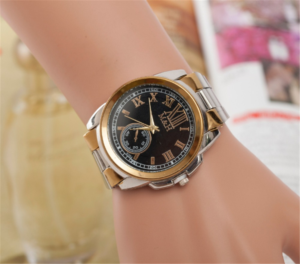 NanBo Marca de lujo de cuarzo Relojes para hombre Hombres de la marca - Relojes para mujeres