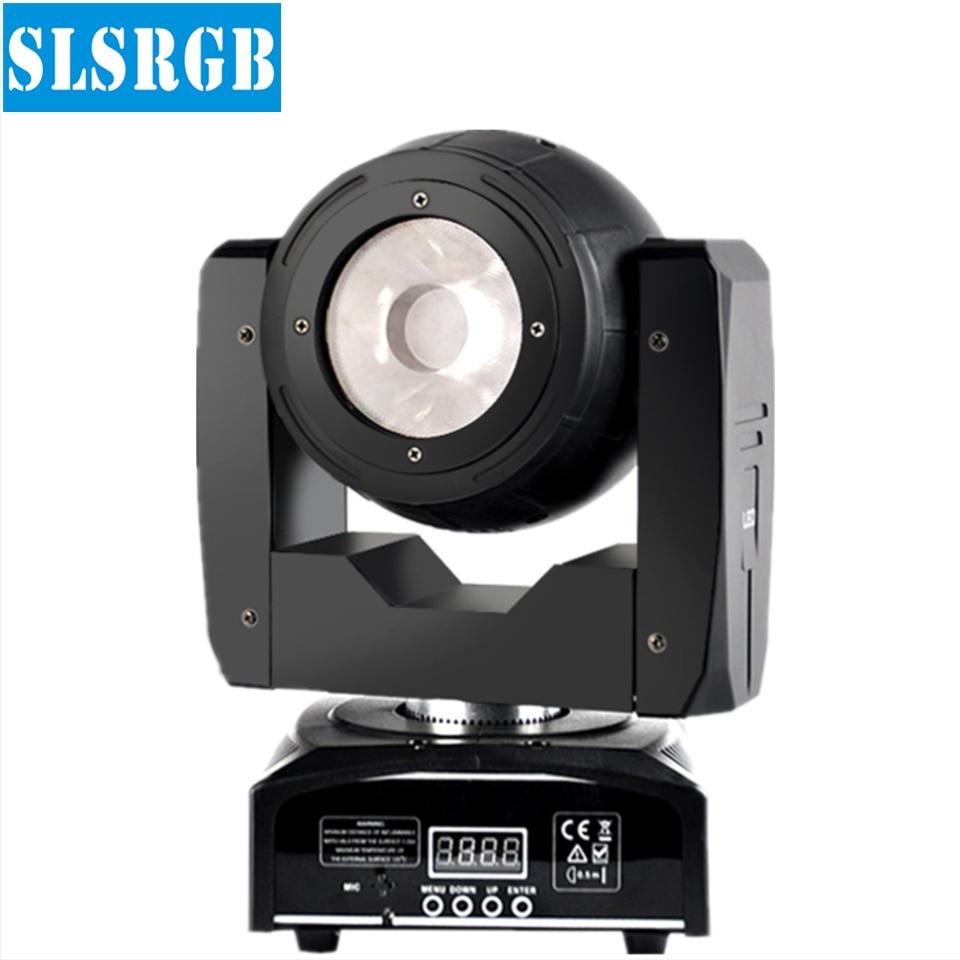 цена на SLS-W9 Mini 60W Led Moving Head Light O-R-S-A-M LED Lamp RGBW 4IN1 Color Beam Effect 4 Degree Angle Big Lens Good Beam Scanner